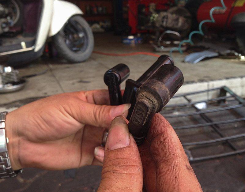 Cách khắc phục khi xe vespa khó nổ - xe vespa đời cũ