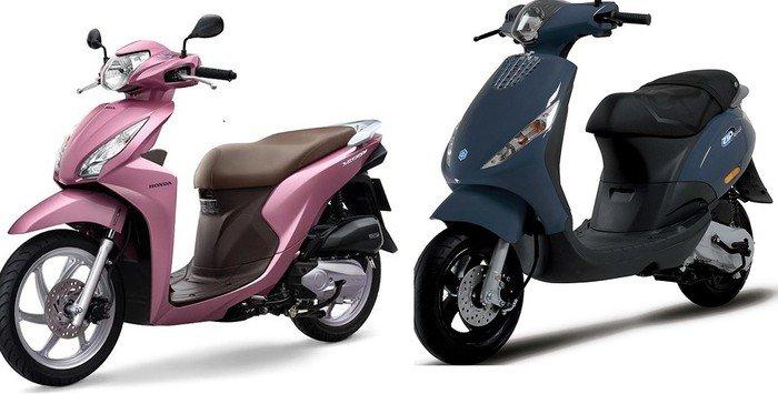 So sánh Honda Vision và Piaggio Zip xe nào là lựa chọn tốt hơn