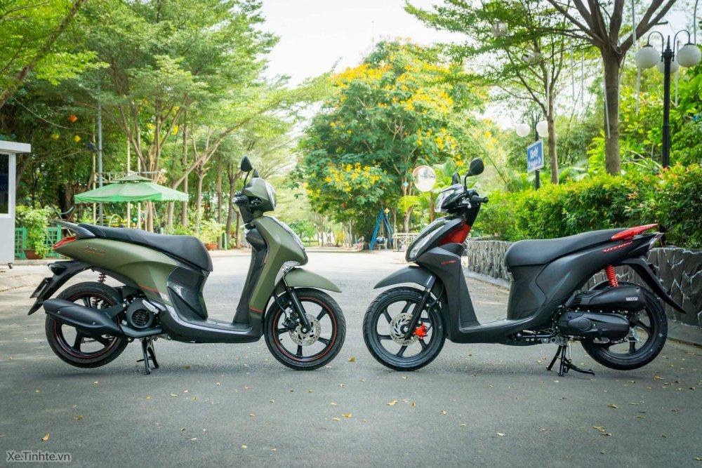 So sánh xe Honda và Yamaha nên mua xe ga của hãng nào tốt hơn
