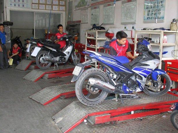 Những địa chỉ sửa chữa xe máy uy tín hiện nay
