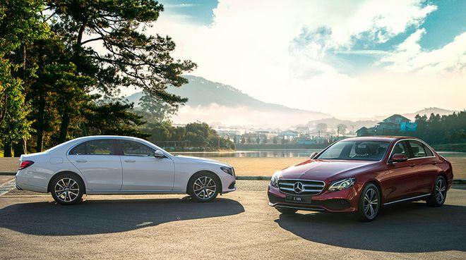 Mercedes E-Class, sedan hạng sang phù hợp hầu bao khoảng 2 tỉ
