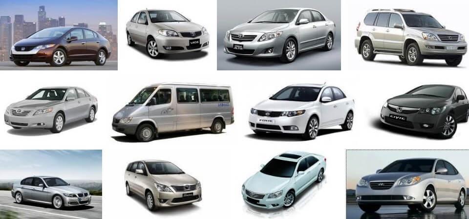 Dịch vụ thuê xe ô tô