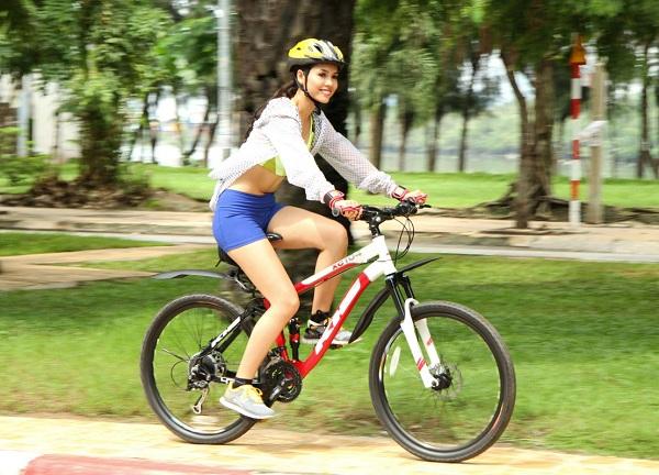 sử dụngxe đạp thể thao