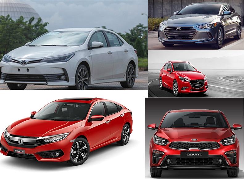 5 mẫu ô tô hạng C đáng mua năm 2019