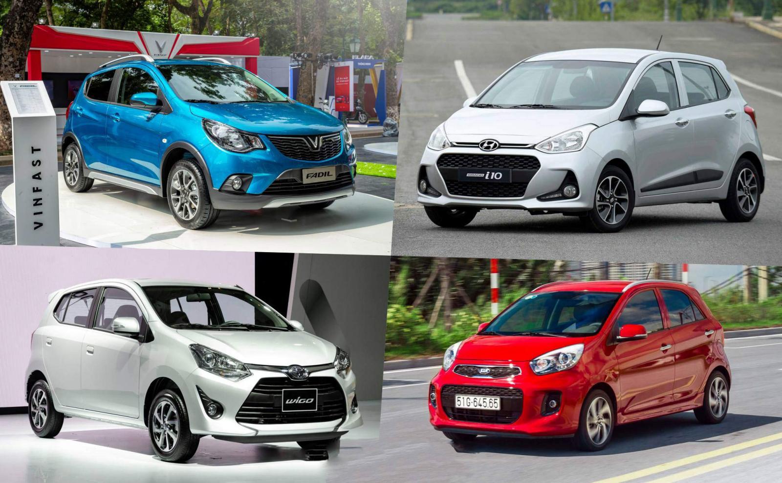 5 mẫu xe có giá rẻ nhất thị trường năm 2020: Chỉ từ 299 triệu đồng