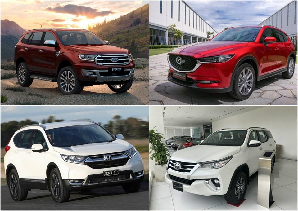 Năm 2020 nhập khẩu ô tô nguyên chiếc từ Thái Lan, Indonesia giảm