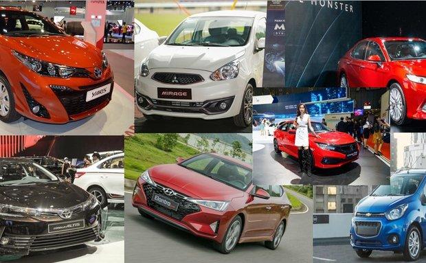 Xe ô tô 5 chỗ tiết kiệm xăng nhất tại Việt Nam: Có Toyota Camry!